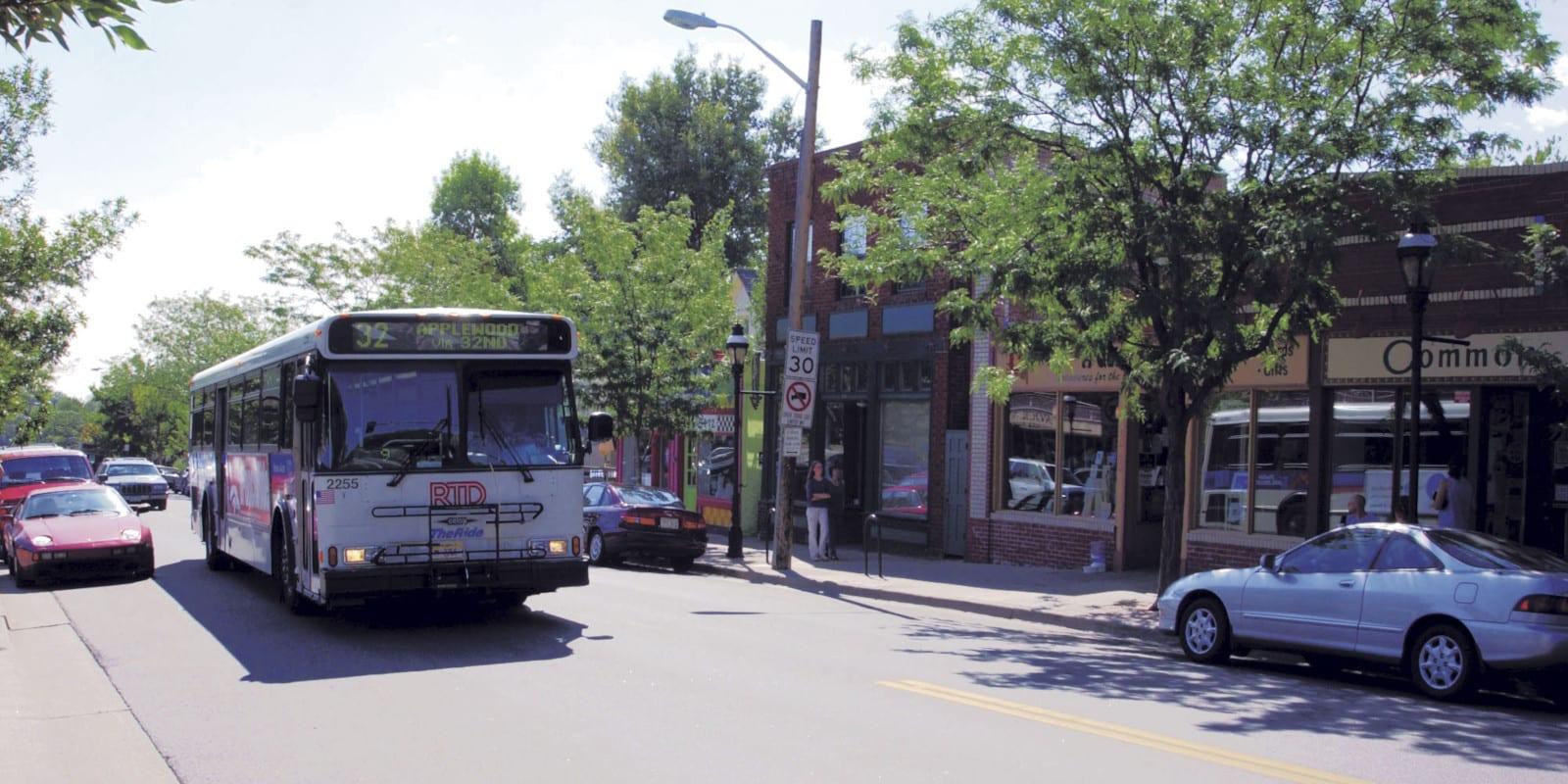 RTD Bus Denver Highlands