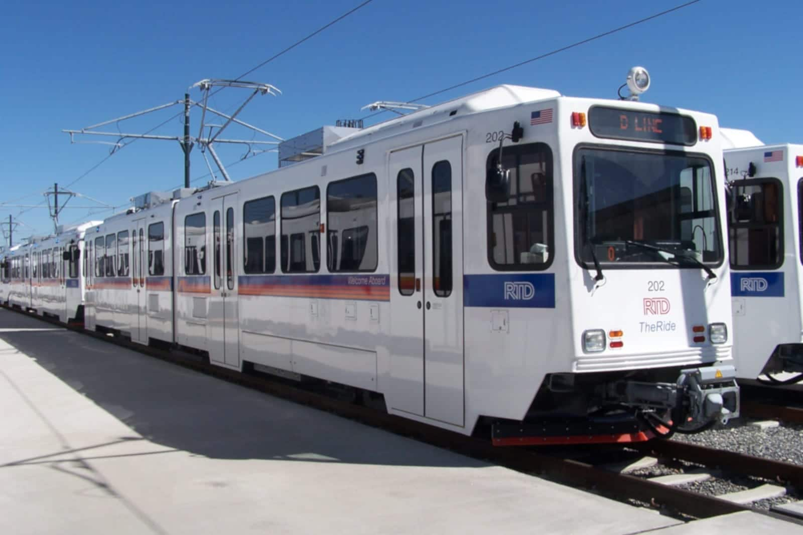 RTD Denver D Line Train