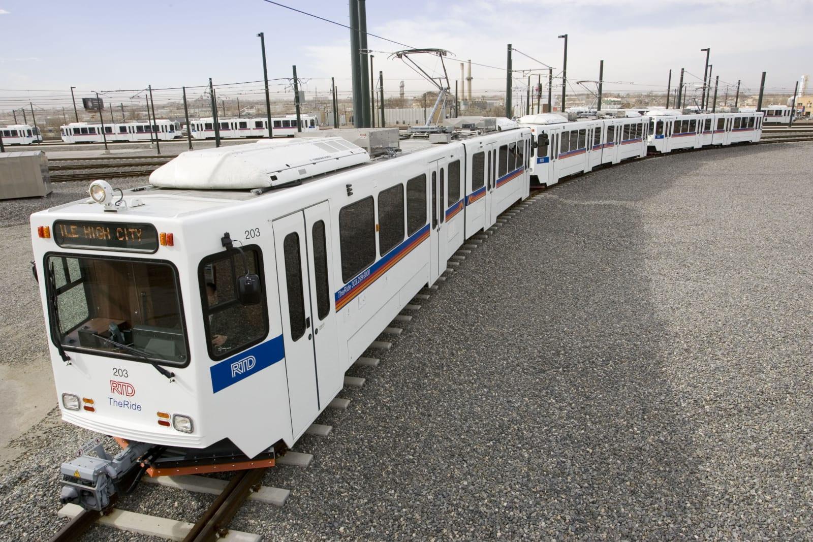RTD Denver Mile High City Train