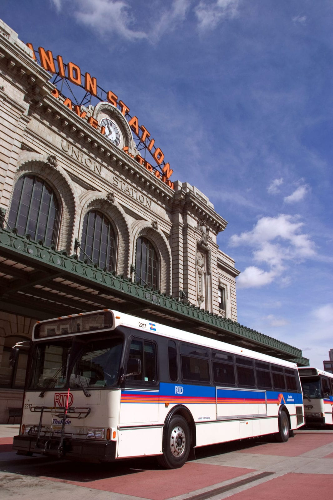 Denver Union Station RTD Bus