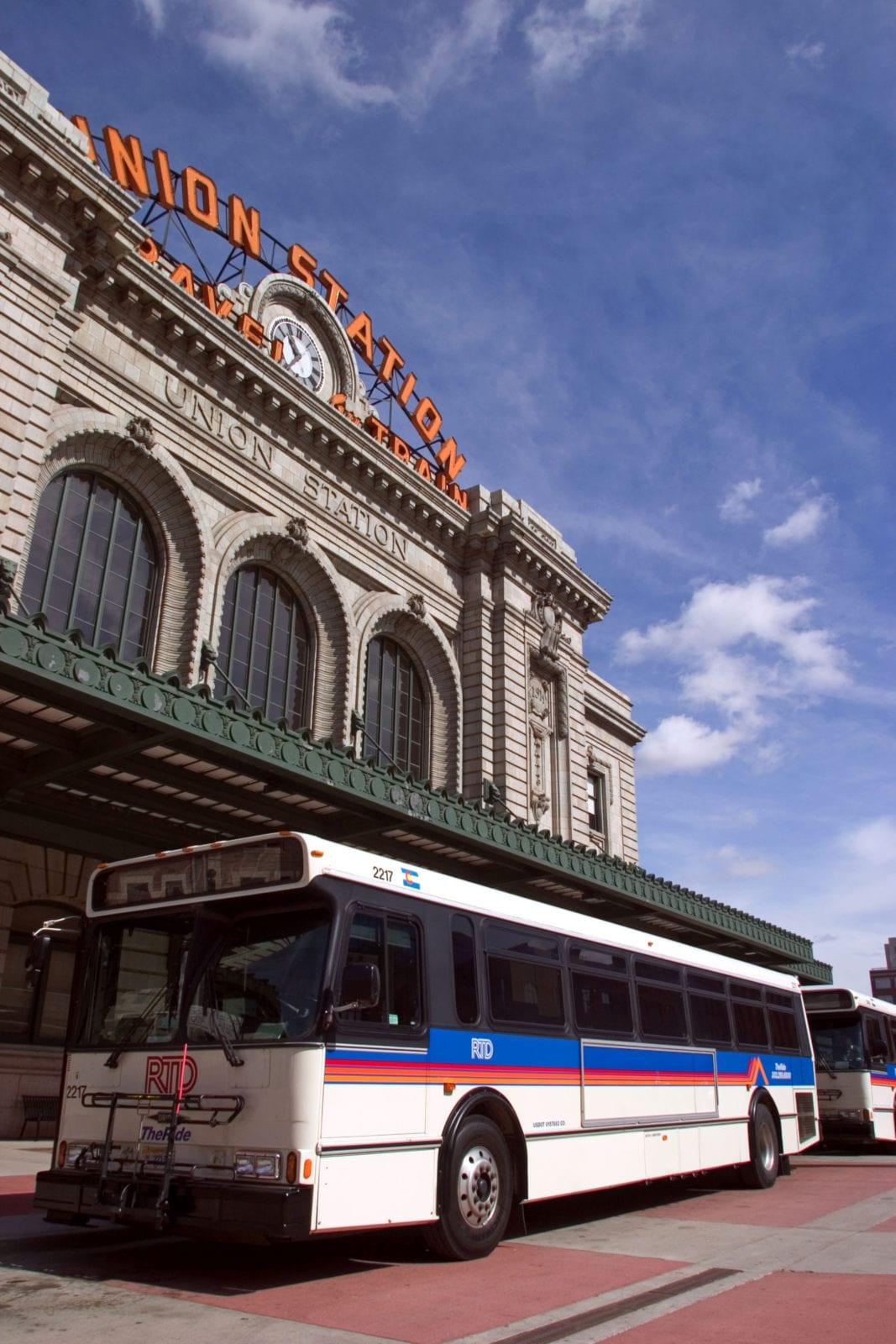 Denver Union Station RTD Bus