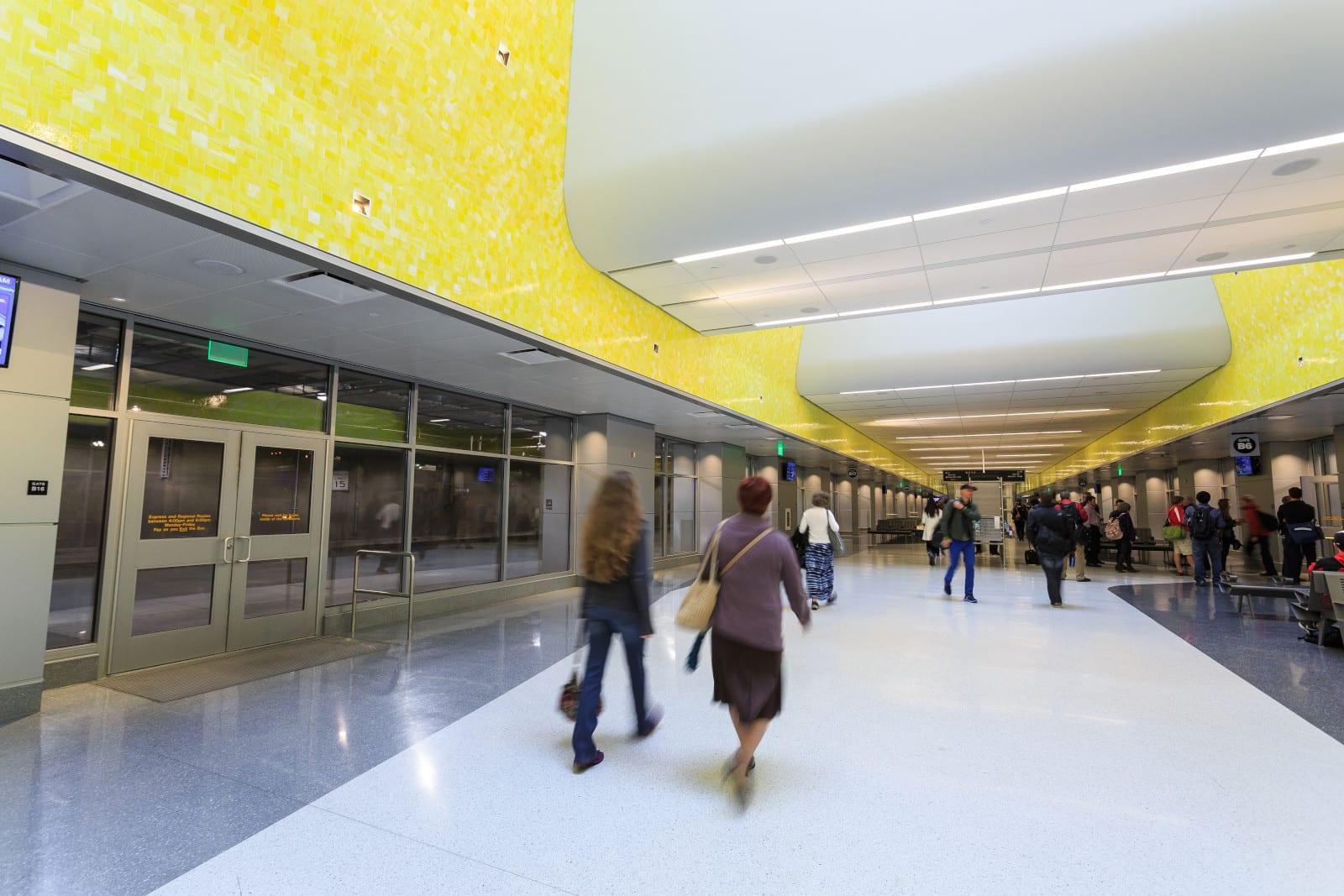 RTD Denver Union Station Bus Concourse