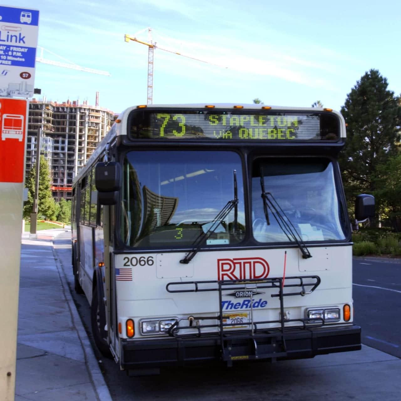 RTD Denver Tech Center Bus