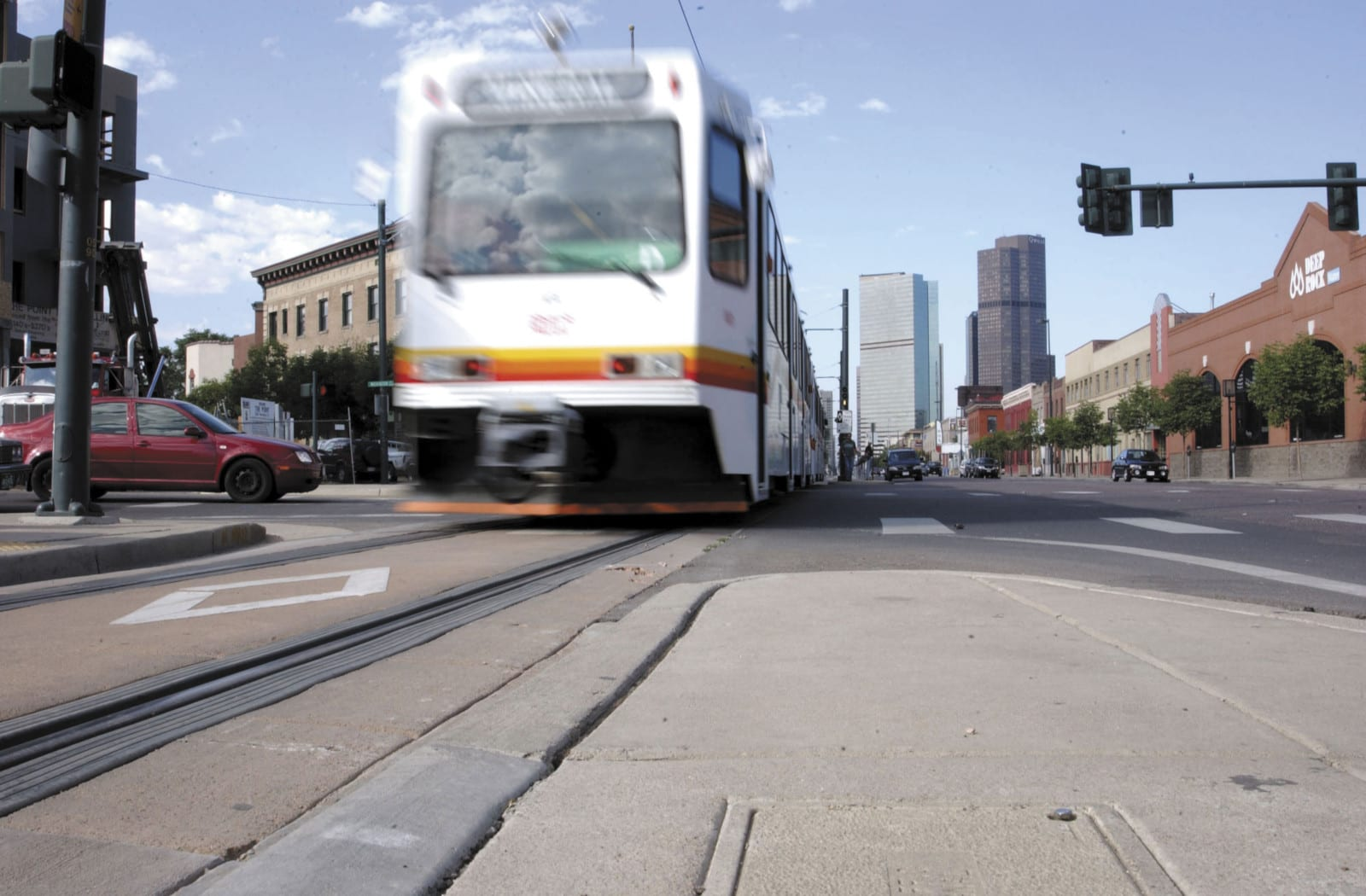 RTD Train 5 Points Light Rail