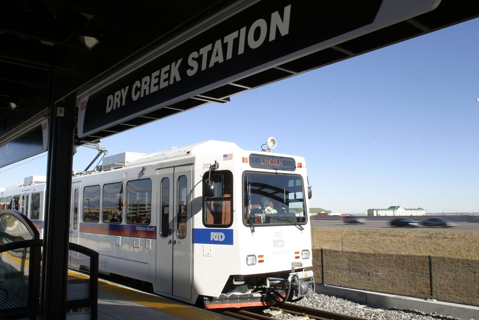 RTD Train Dry Creek Train Centennial CO