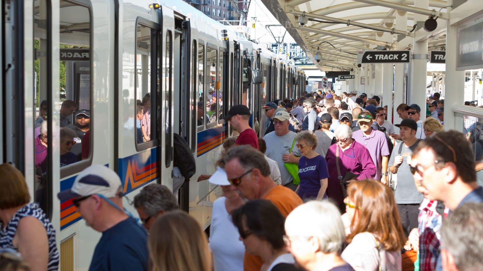 RTD Train Light Rail Denver CO