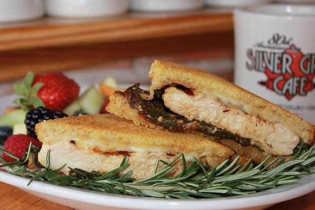Silver Grill Cafe Fort Collins Chicken Panini Sandwich Lunch
