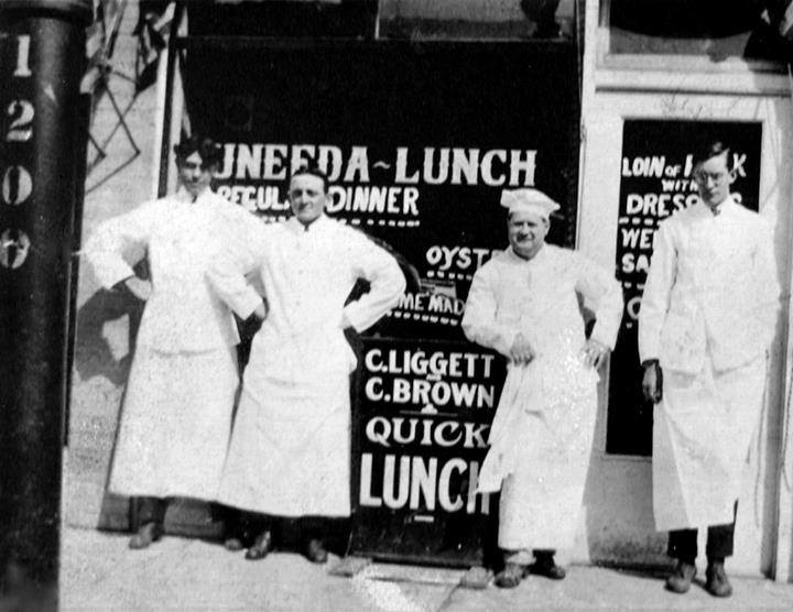 Silver Grill Cafe Fort Collins Vintage Photo 1933