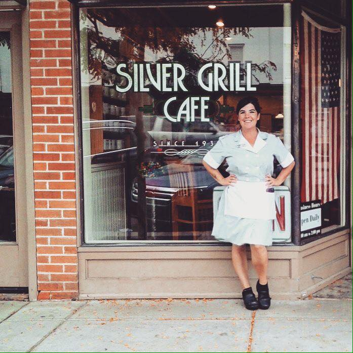 Silver Grill Cafe Fort Collins Vintage Photo