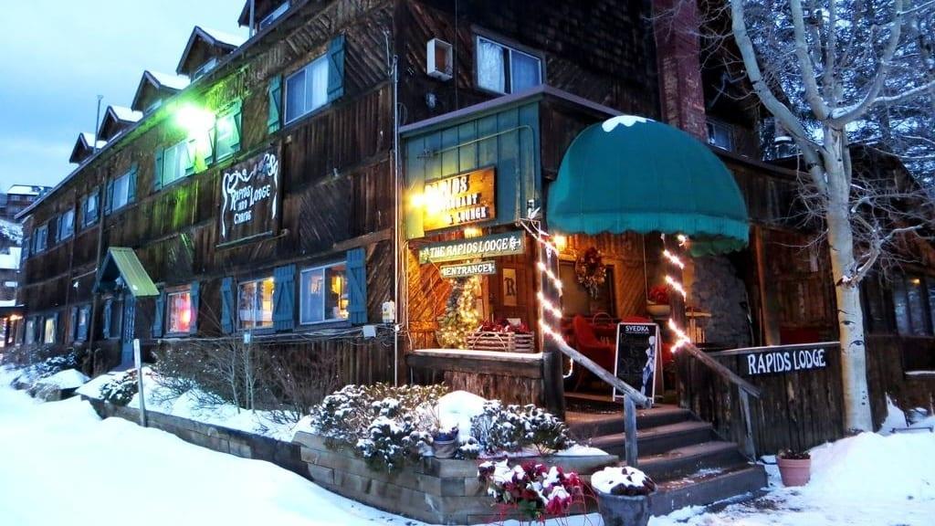 The Historic Rapids Lodge and Restaurant Grand Lake