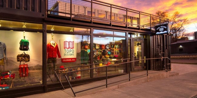 Topo Designs Colorado USA Denver Flagship Store