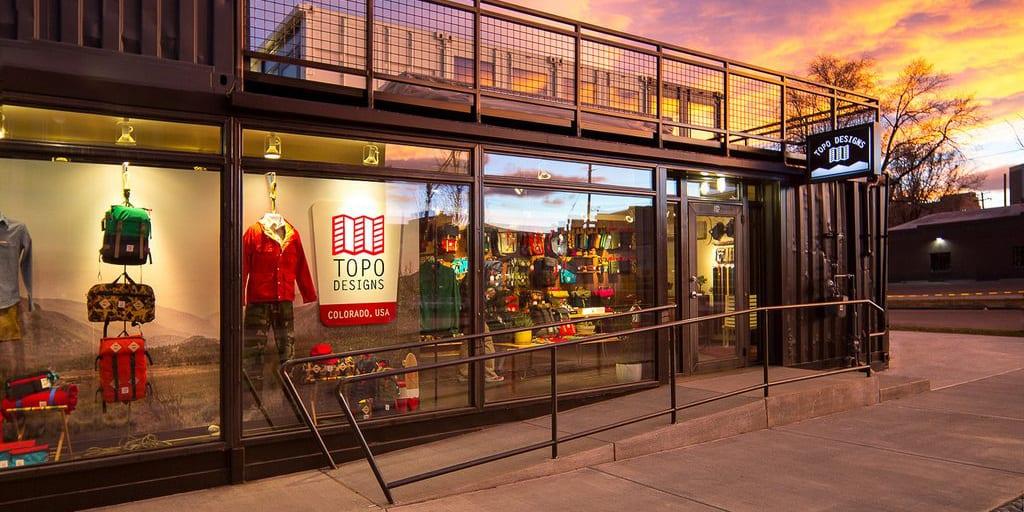 Topo Designs Colorado USA Denver Flagship Store