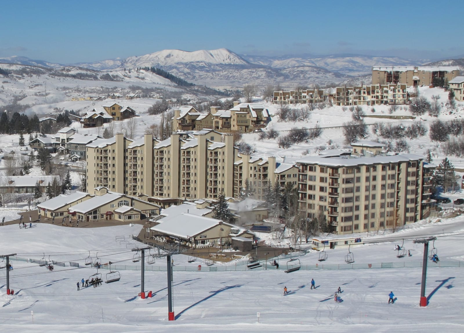 Torian Plum and Creekside Resort Steamboat Springs Winter