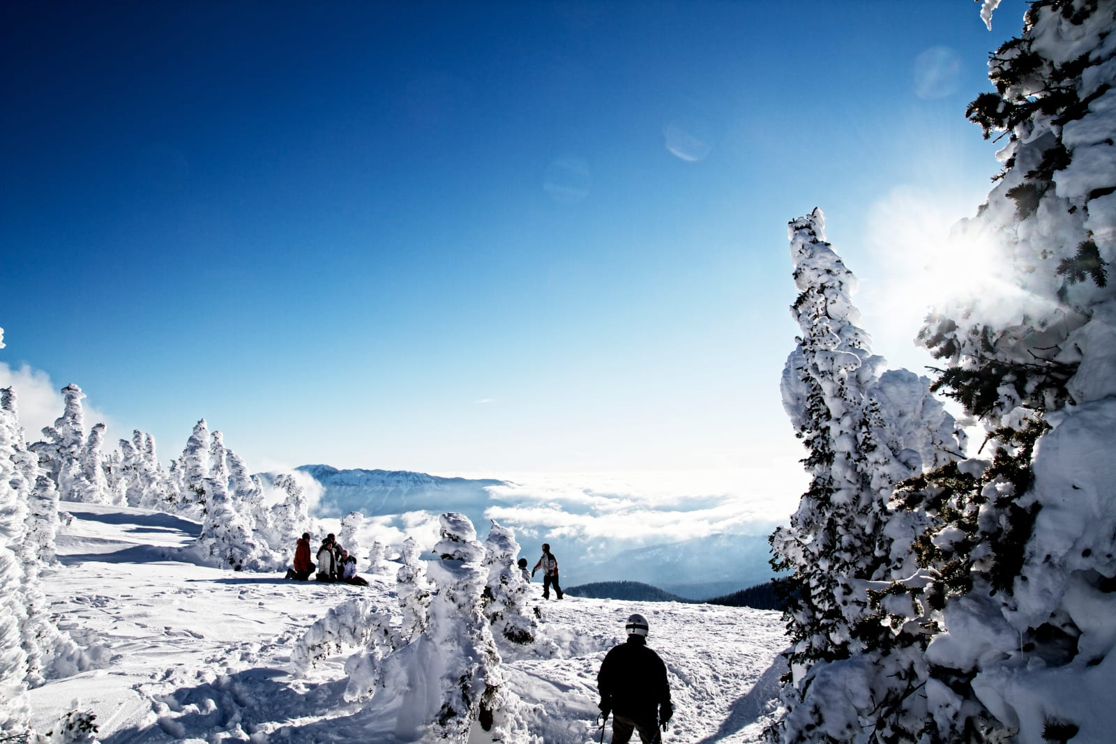 Winter Blues Wolf Creek Ski Area Group View