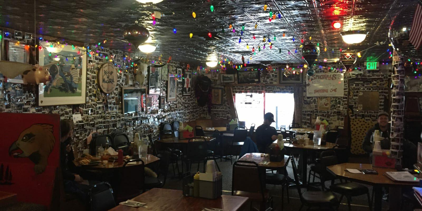 Woody's Creek Tavern Colorado Interior