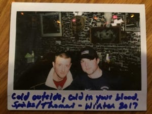 Woody's Creek Tavern CO Polaroid Photo