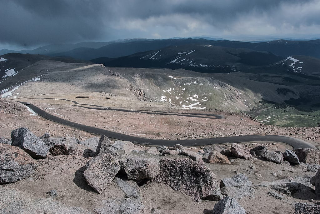 image of Mount Evans Road