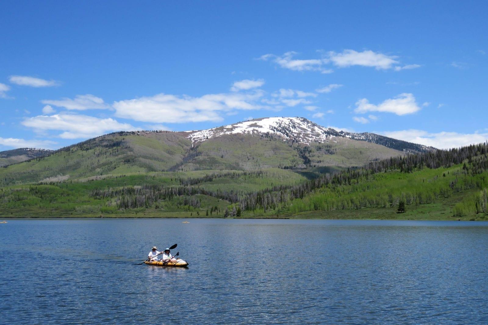 image of kayakers on pearl lake