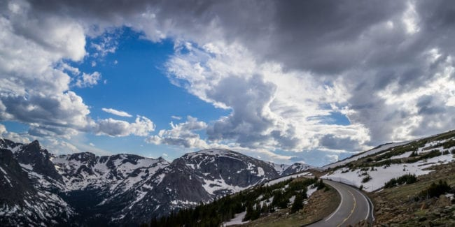 image of Trail Ridge Road in Colorado