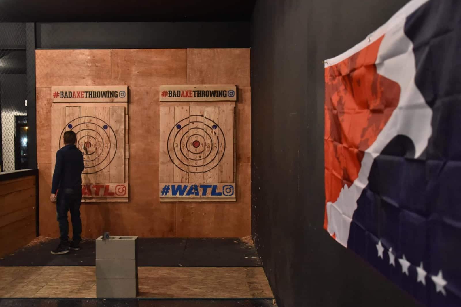Bad Axe Throwing Denver CO Targets