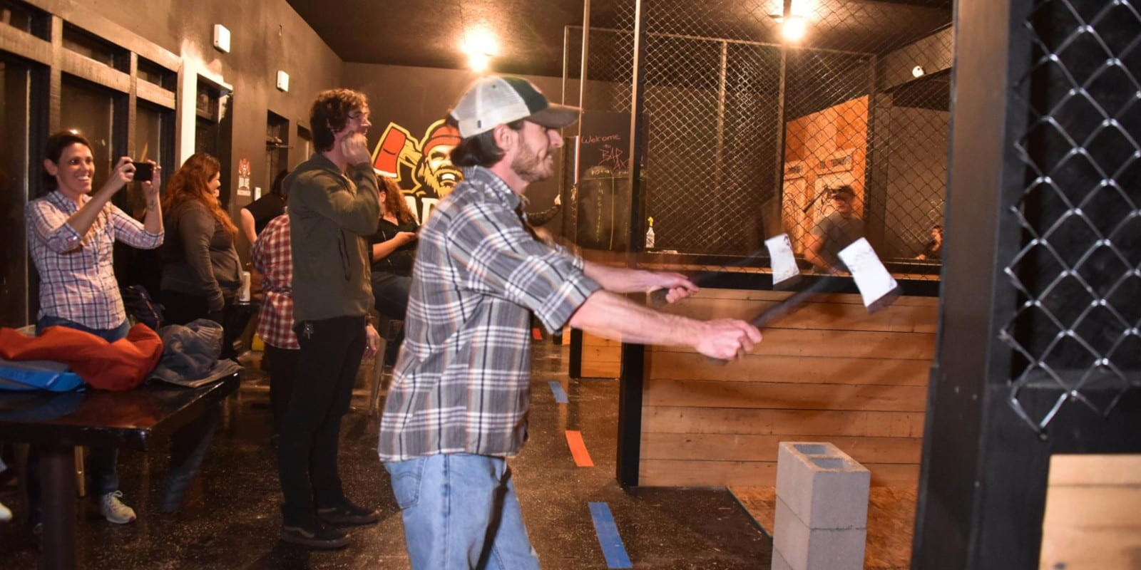 Bad Axe Throwing Denver CO 2 Axes