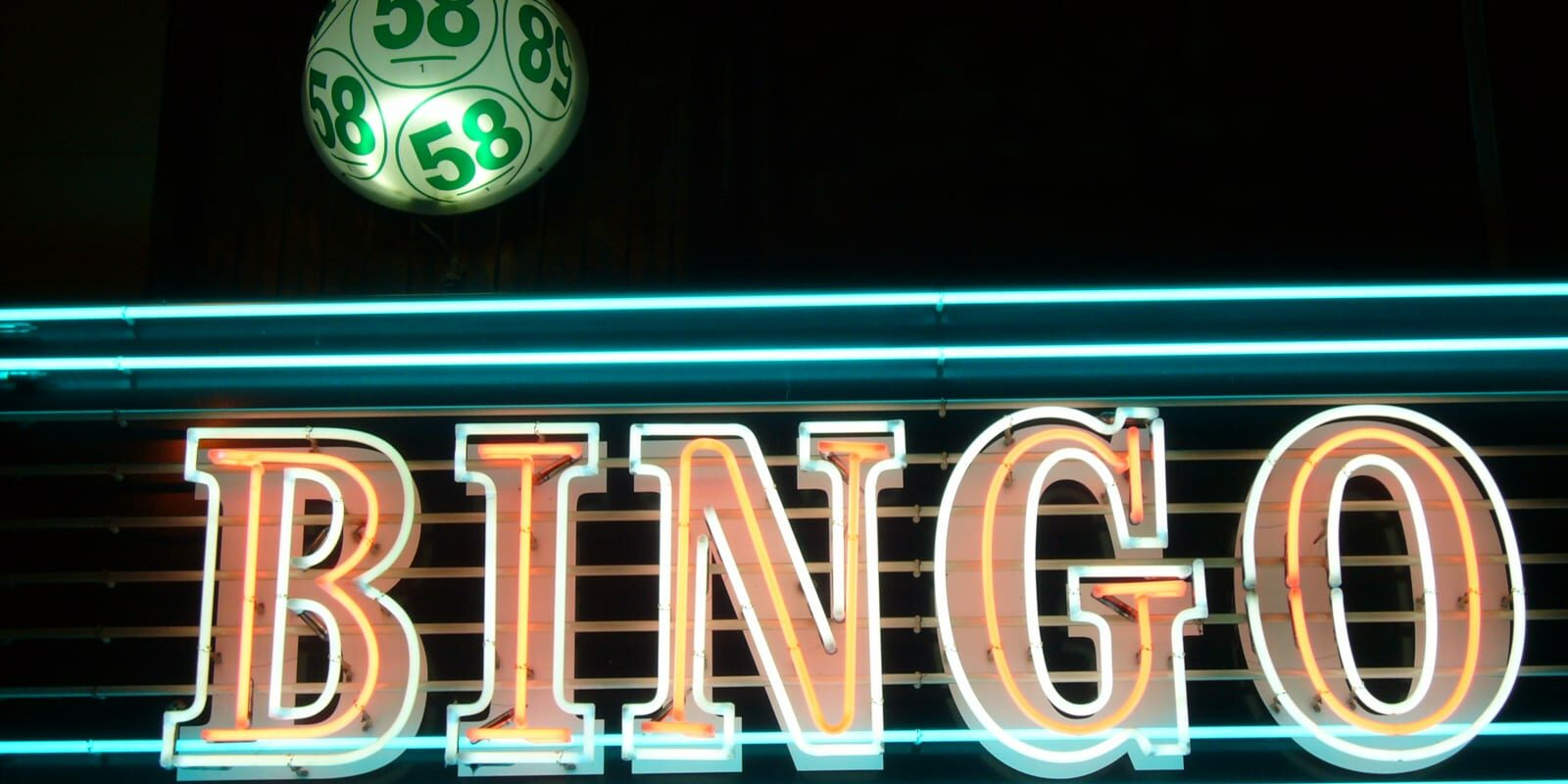 Bingo Ball Neon Light