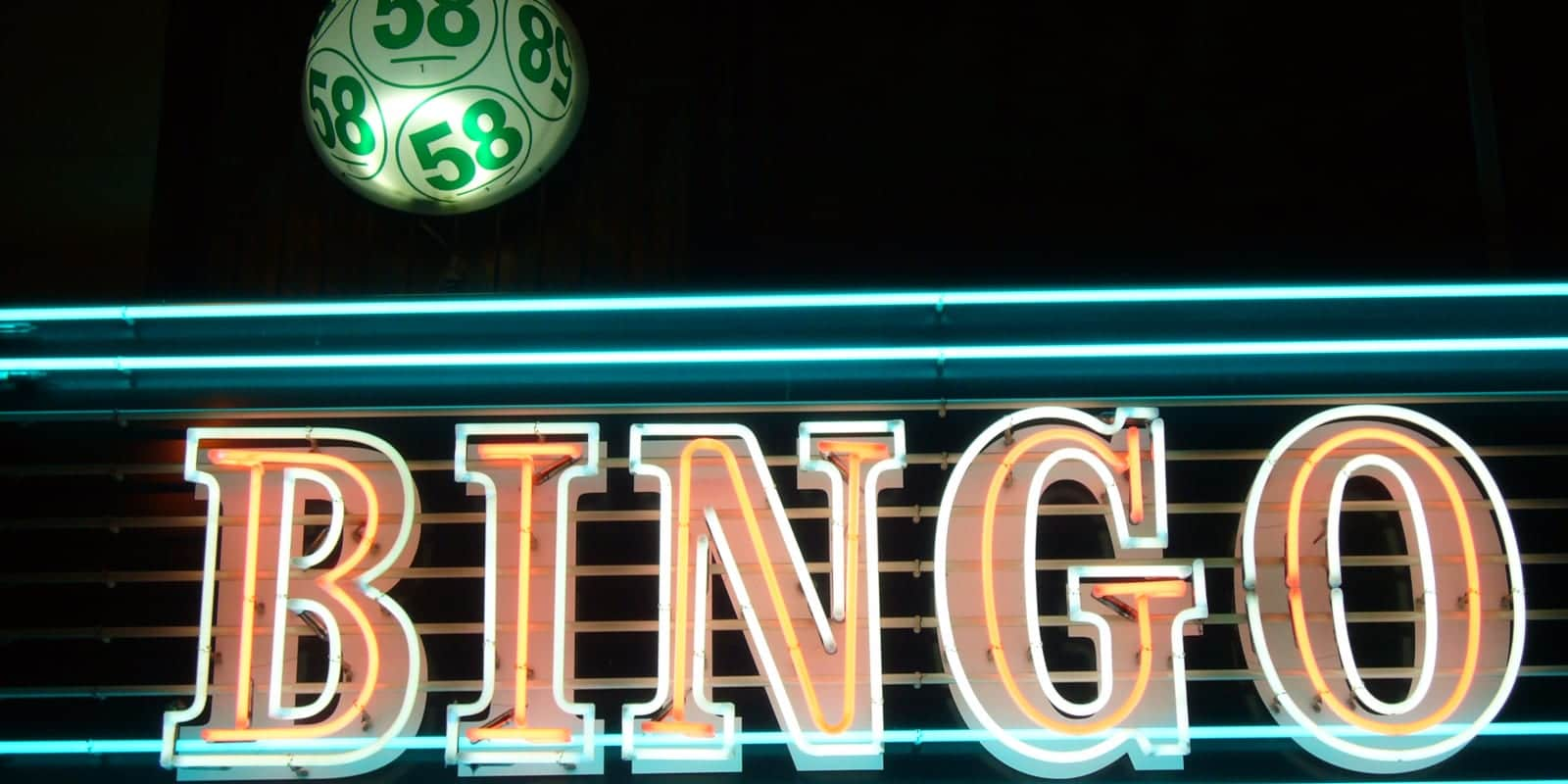 Bingo Ball Neon Light