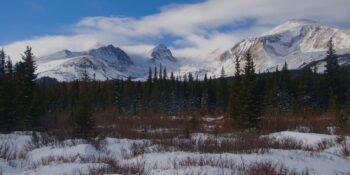 Brainard Lake Recreation Area Colorado Snowshoeing Trail
