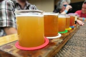 Cannabis Tourism Brewery Tour Colorado Craft Beer Flight