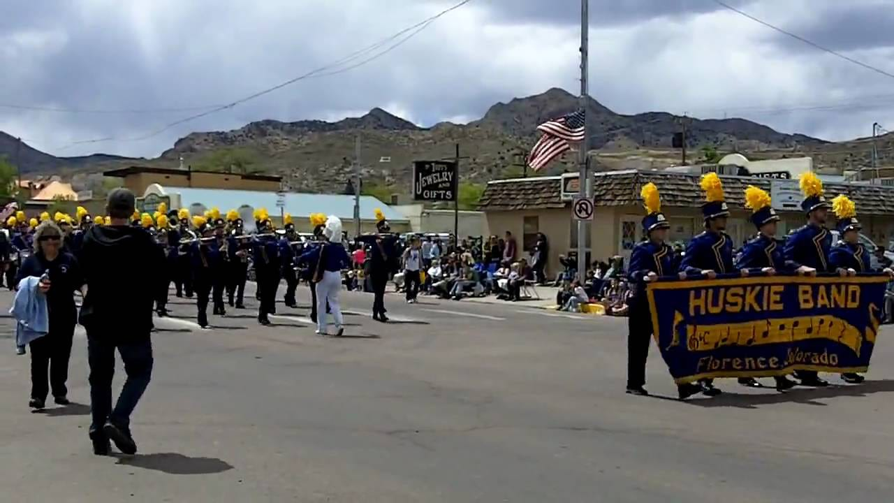 Canon City Music and Blossom Festival Parade Marching Band