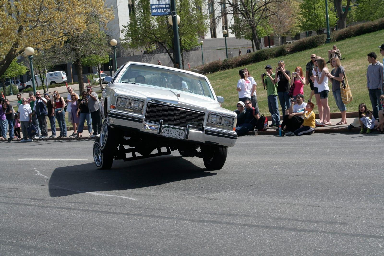 Cindo de Mayo Festival Parade Low Rider Hydraulics