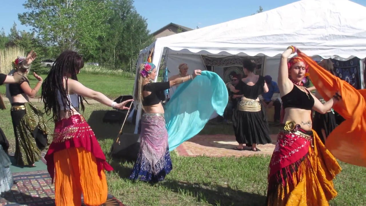 Colorado Medieval Festival Belly Dancers