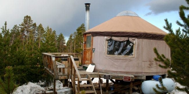 Colorado State Park Cabin Yurt Rentals State Forest