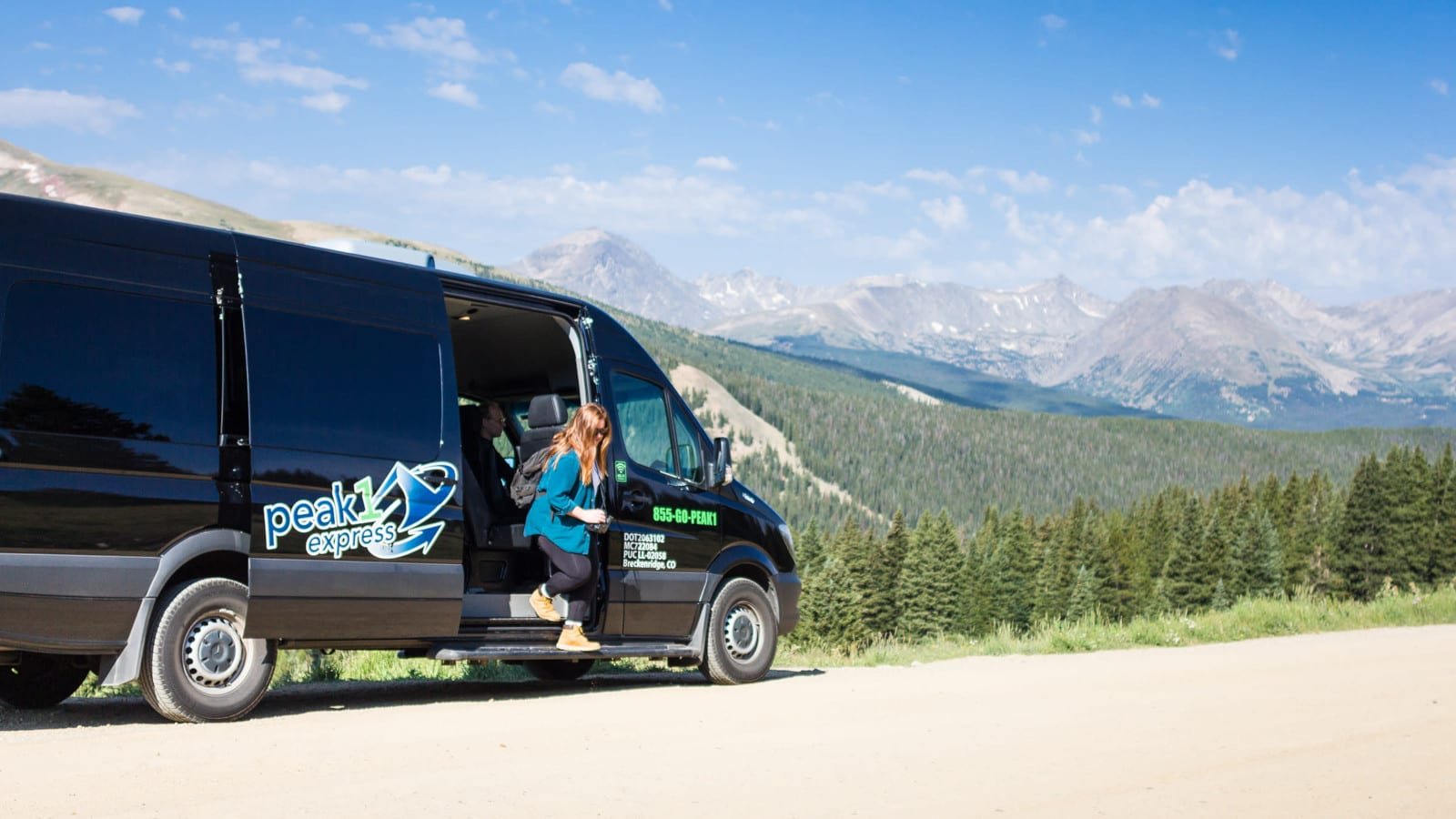 Colorado Without Car Peak1Express Mountain Shuttle Summit County