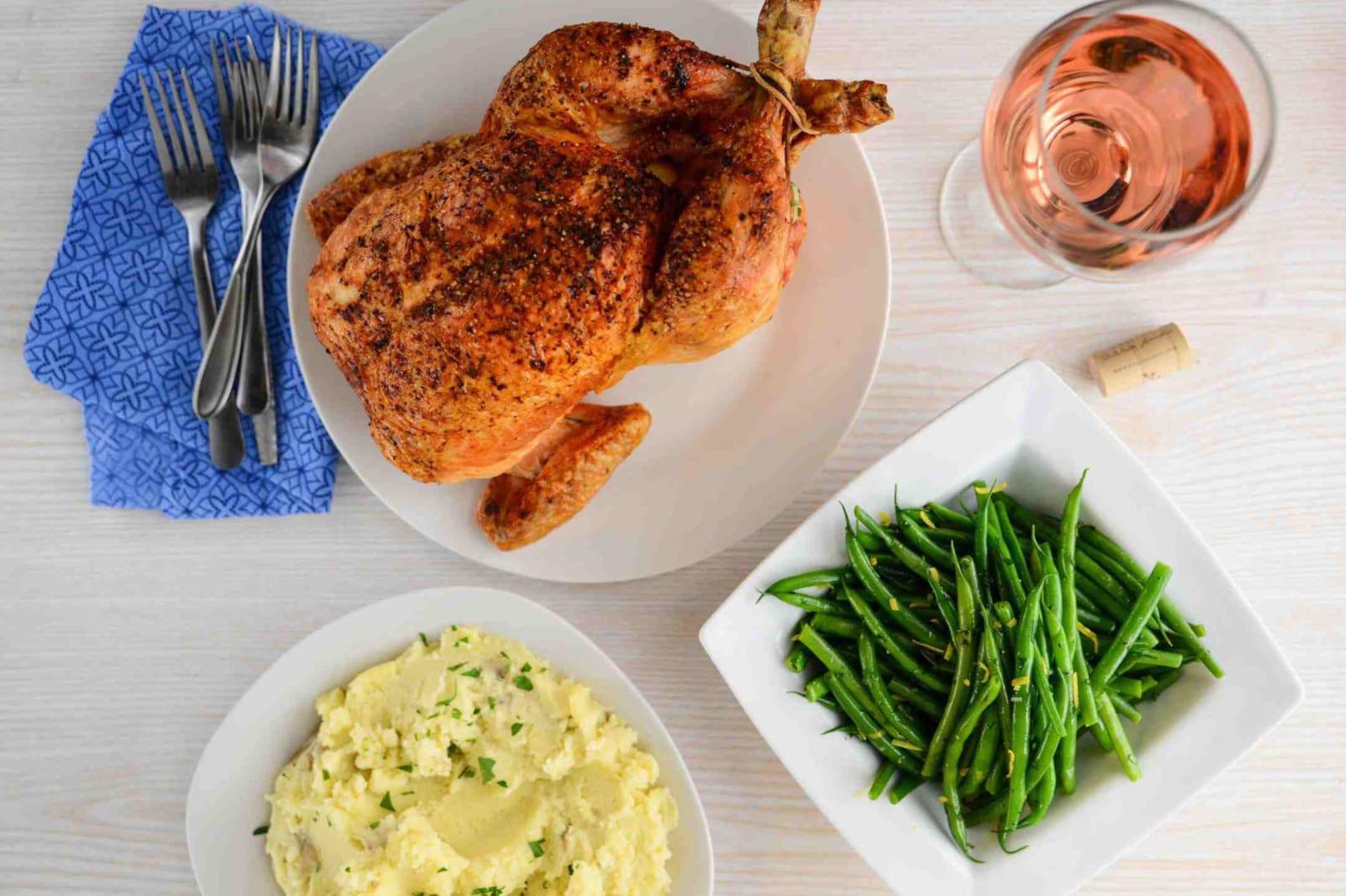 Denver Meal Delivery Service Supperbell Family Chicken Dinner