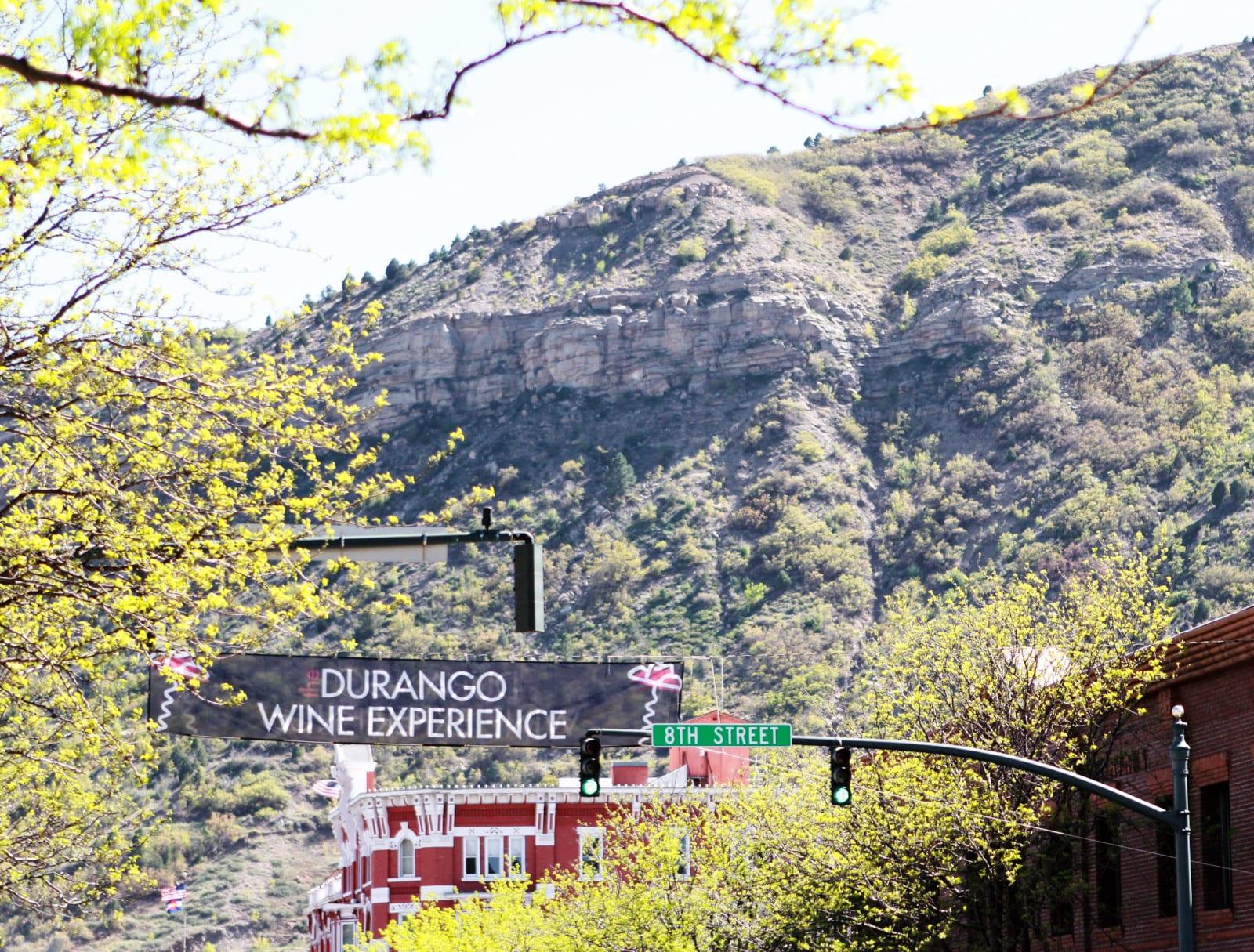 Durango Wine Experience Downtown Banner