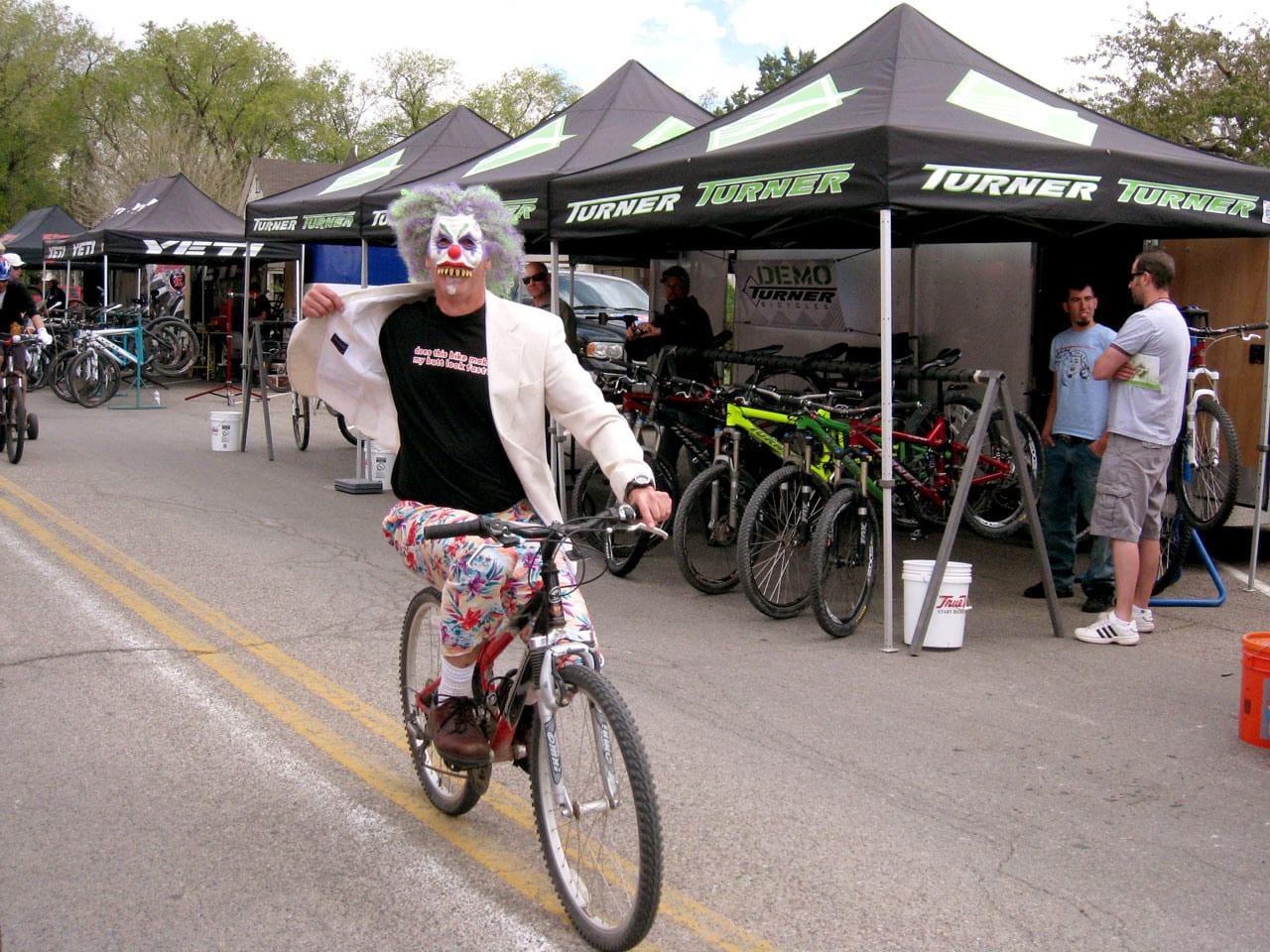 Fruita Fat Tire Festival Masked Biker