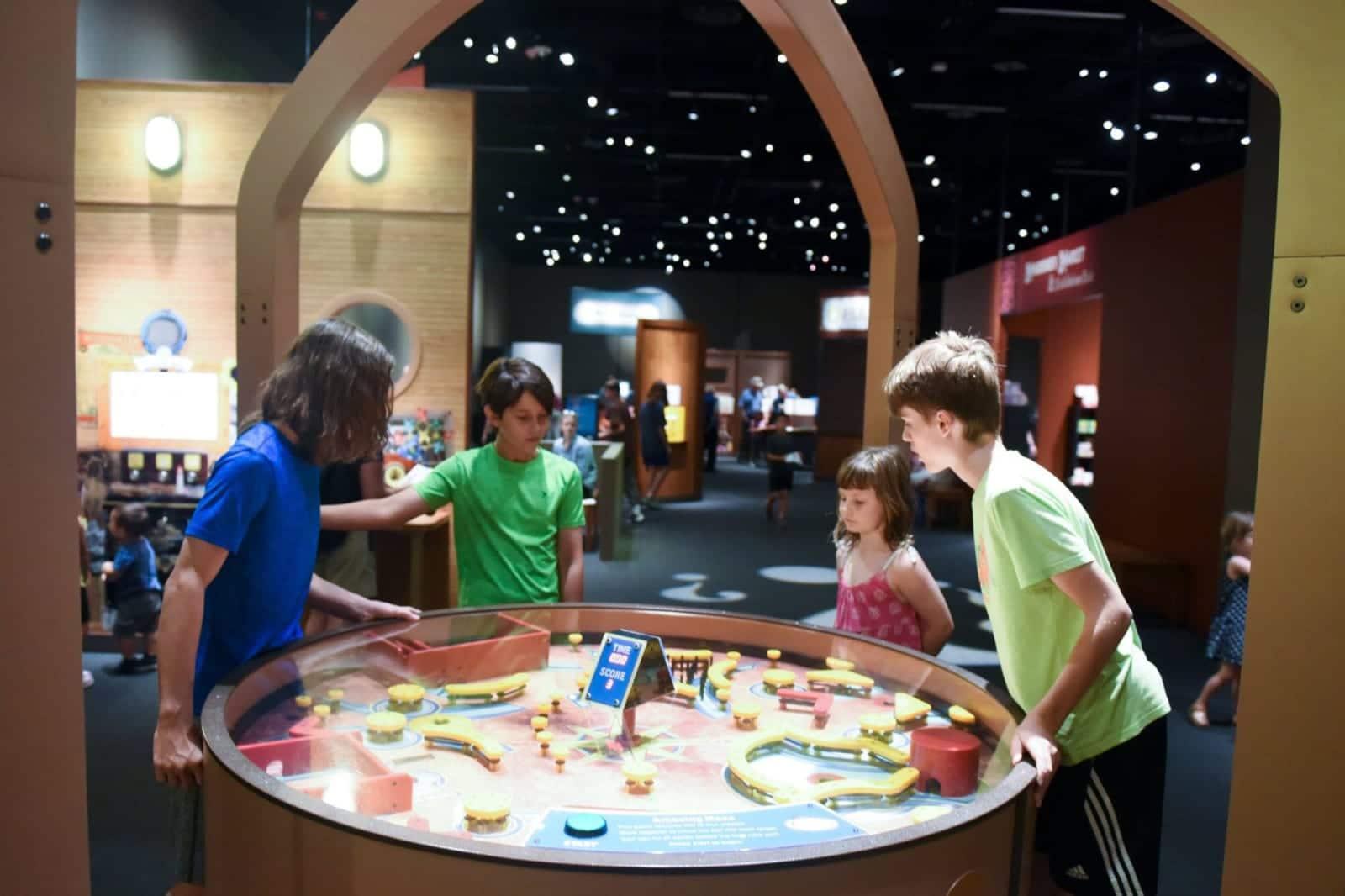 Kid Friendly Activity Denver Museum Nature Science Mindbender Mansion