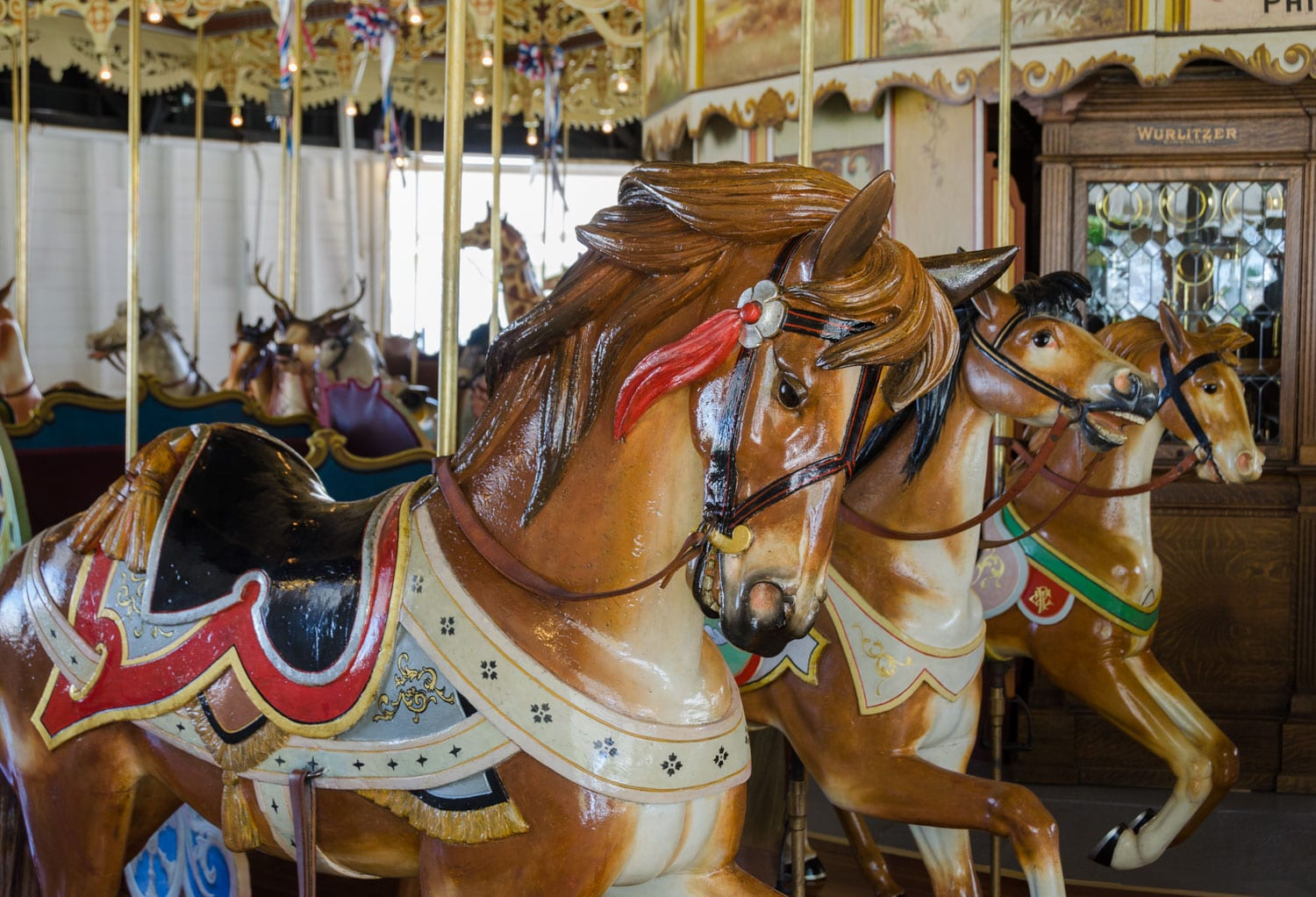 Kit Carson County Carousel Burlington CO Horses