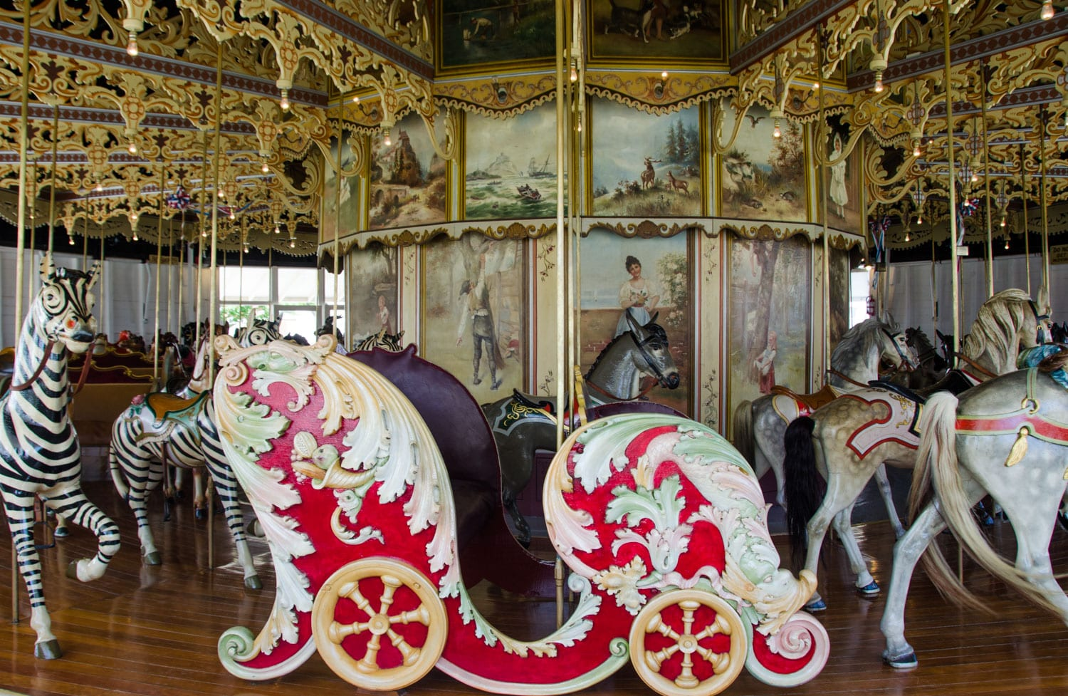 Kit Carson County Carousel Burlington CO Chariot