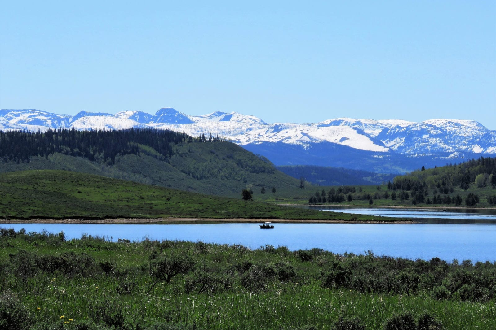 image of Steamboat lake