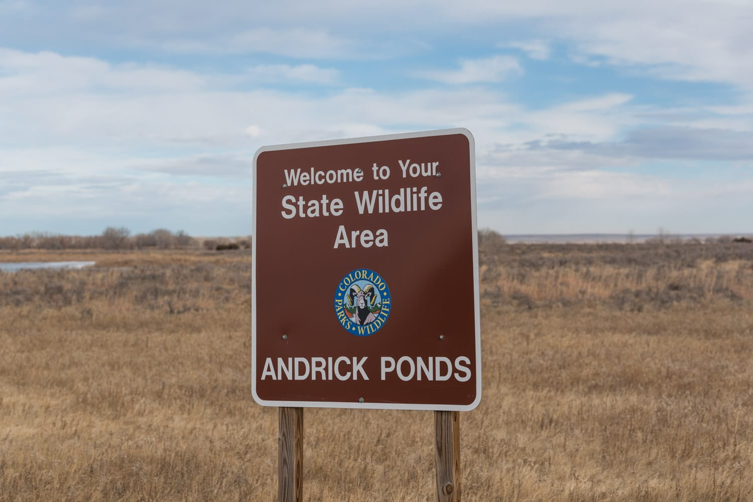 image of Andrick Ponds in Orchard, CO