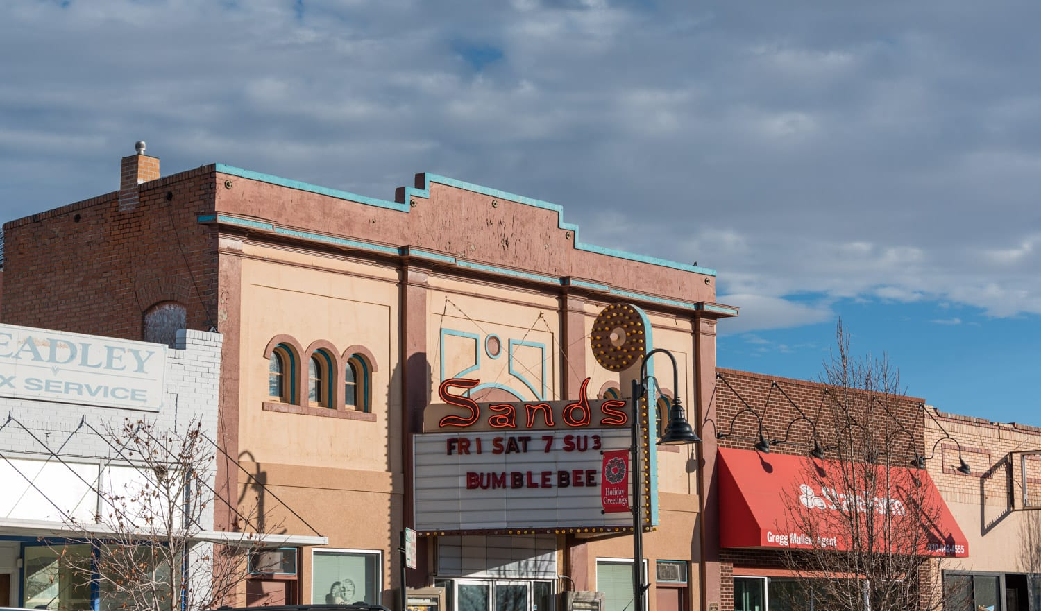 image of Sands theater in Brush, CO
