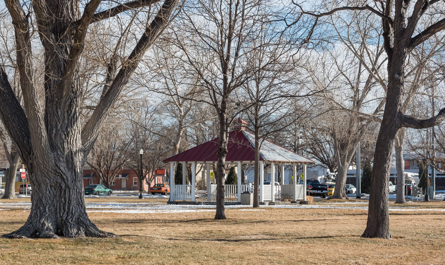 image of city park in Fort Morgan, CO
