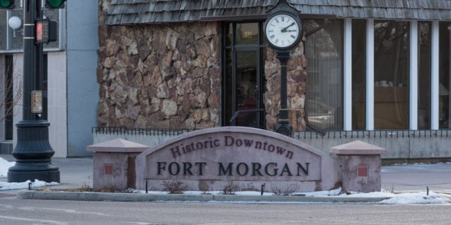 image of downtown Fort Morgan, CO