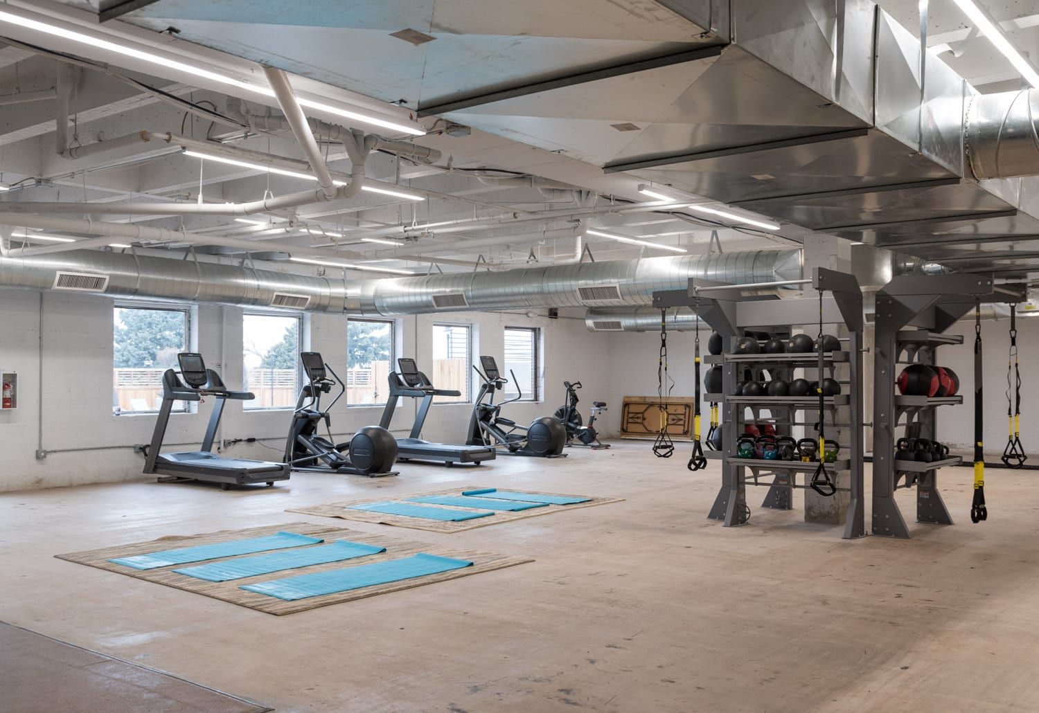 image of gym at SCP Hotel