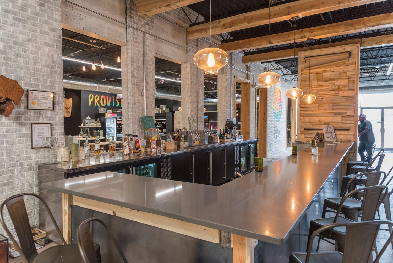 image of bar at SCP Hotel
