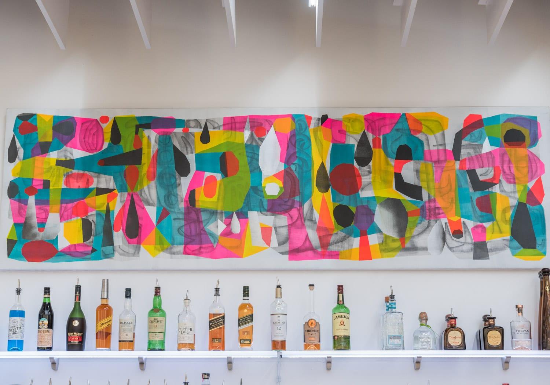 image of bar at Mirus Gallery