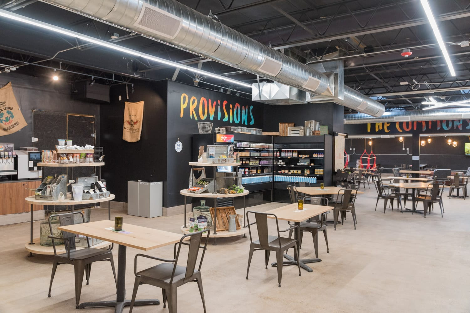 image of provisions market at SCP Hotel