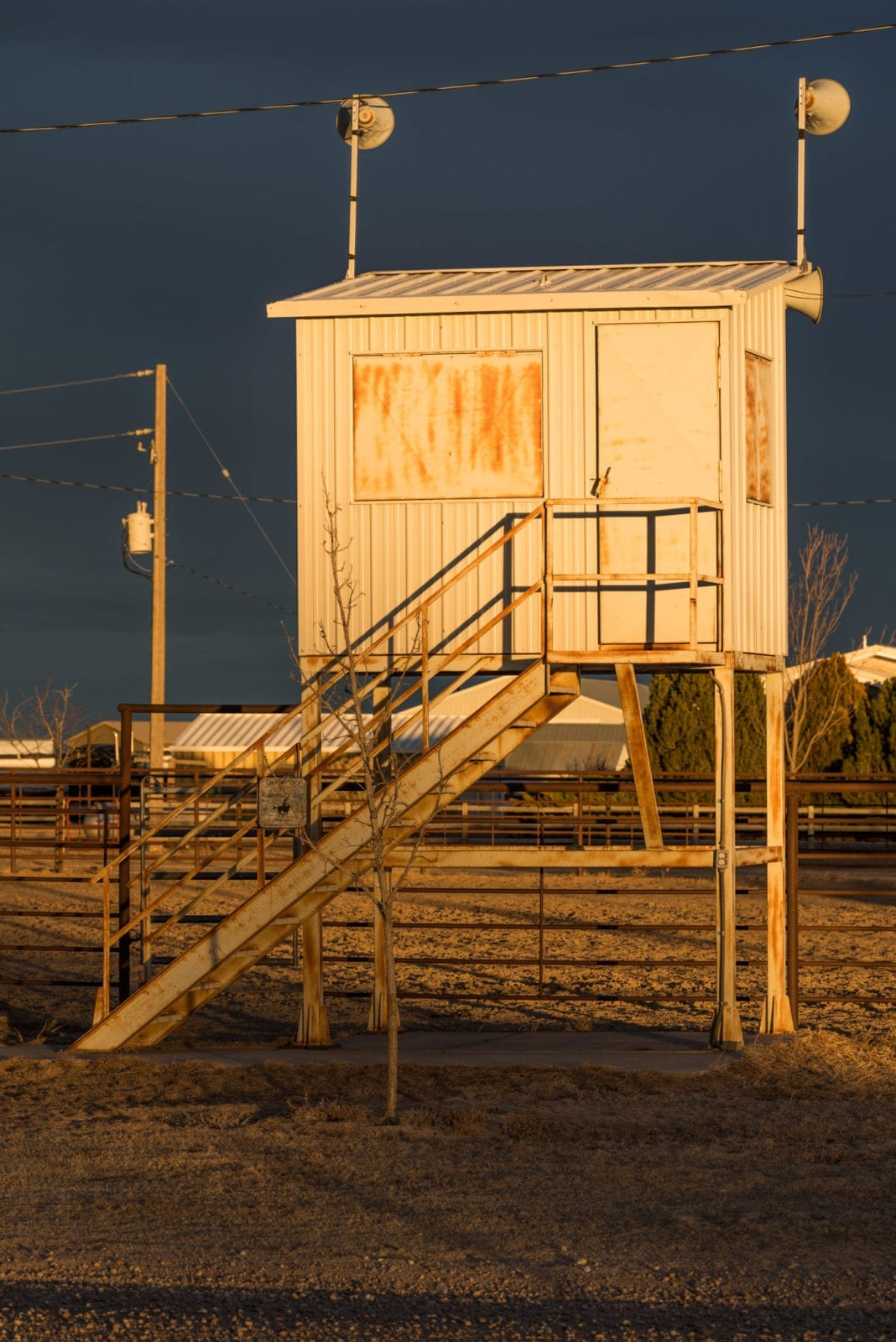 image of fairgrounds in New Raymer, CO